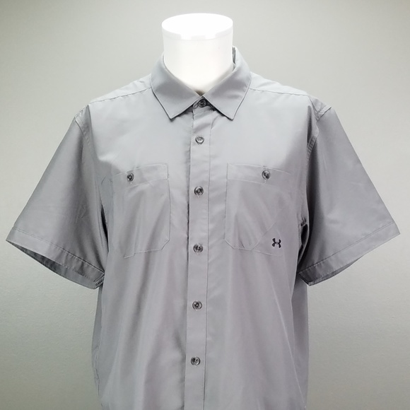 69294022 Men's Under Armour Heat Gear Button Down Shirt